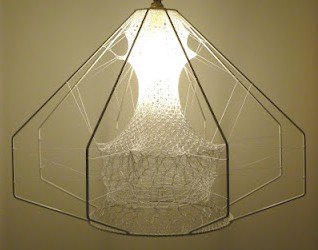 Ethereal seed lampshade