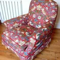 Armchair William Morris Loose Covers