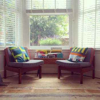 Fluro piping chairs
