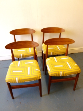G-plan style chairs