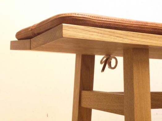 Liam Treanor Bench Cushion - Leather